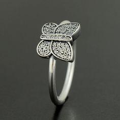 Pandora Sparkling Butterfly Ring - 190938CZ