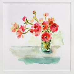 Meander by Betty Hatchett at minted.com  COLORS