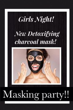 Who wants to try our new charcoal mask? #charcoalmask #marykay