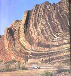 Folds are some of the most common geological phenomena you see in the world – a geological fold occurs when planar (usually sedimentary) l...