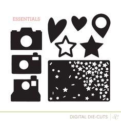 Free cut file 'Essentials Cut Designs' at  Studio Calico #Silhouette #CutFile
