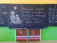 1.září ve třídě Chalkboard Quotes, Classroom, Activities, Education, School, Children, Decor, Google, Class Room
