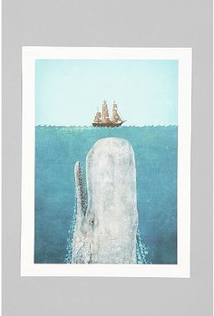 The Whale Print