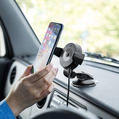 サンワサプライ、「iPhone X」のワイヤレス充電に対応する「Qi」規格搭載の車載ホルダー - Car Watch
