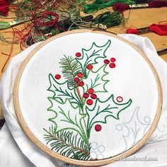 Embroidery Floss London those Embroidery Needles up Embroidery Library Minnesota during Embroidery In Hollywood over Embroidery Designs Modern Christmas Embroidery Patterns, Crewel Embroidery Kits, Embroidery Materials, Embroidery Transfers, Embroidery Patterns Free, Embroidery Needles, Hand Embroidery Designs, Vintage Embroidery, Ribbon Embroidery