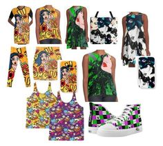 Comic Art Fashion for your Stylin' Sets by streetstylegirl-leahg on Polyvore featuring popart, comicart, trending2017 and comicartfashion http://www.redbubble.com/people/cartoonistlg/works/24783538-pop-art-fashion-retro-comic-style-by-leahg?asc=u&ref=recent-owner