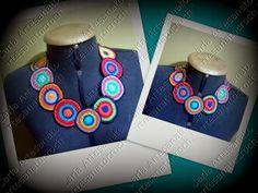 Colar Mandalas ( crochet)