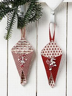 Julepynt i design filt