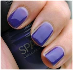 Sparitual Lacqure- Illume (this looks like the perfect purple! I have to find it!)