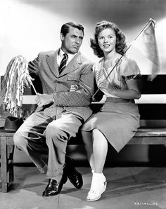 Cary Grant  Shirley Temple - The Bachelor  The Bobbysoxer (1947)