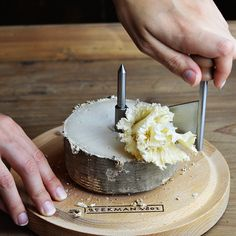 The new aged goat cheese from Beekman 1802 is to die for...