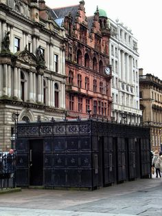St Vincent Street, Glasgow, Scotland. I have definitely walked this street in the city where I was born.