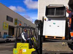 Transportando máquinas de más de 500 kilos