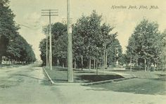 Hamilton Park - The corner of MLK and Root.