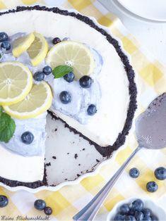 Meine Küchenschlacht: Oreo-Zitronen Tarte mit Heidelbeer Sahne