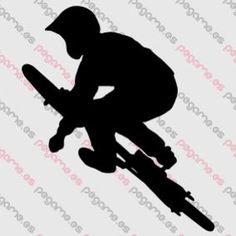Pegame.es Online Decals Shop  #bicycle #sport #jump #acrobatic #freestyle #freeride #vinyl #sticker #pegatina #vinilo #stencil #decal