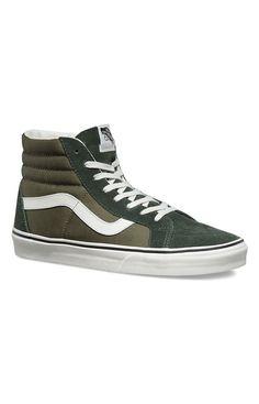 Vans, 2 Tone Sk8-Hi Reissue Shoe - Duffle Bag - Footwear - MOOSE Limited