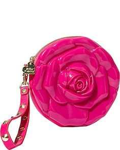 Betsey Johnson Jelly Rose Wristlet... OMG... SO FAB<3<3