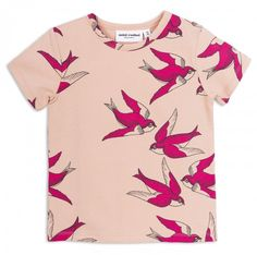 Swallows S/S Tee / Pink
