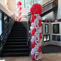 Balloon Backdrop, Balloon Columns, Balloon Decorations, Balloons, Board Game Geek, Board Games, Casino Party, Casino Night, At Home Dates