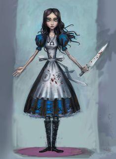 Alice: Madness Returns - Concept Art - Alice - Ken Wong