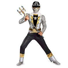Disguise Saban Super MegaForce Power Rangers Special Ranger Silver Classic�