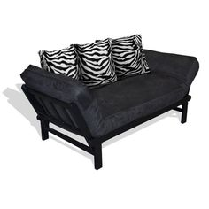 Hudson Zebra Futon/Sofa American Furniture Alliance Futon Sets Futons Bedroom Furniture