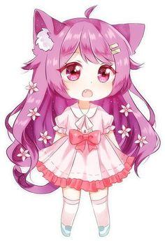Chibi anime shows. Chibi Neko, Dibujos Anime Chibi, Cute Anime Chibi, Kawaii Chibi, Anime Neko, Chibi Eyes, Manga Kawaii, Loli Kawaii, Kawaii Anime Girl