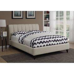 Gillispie Upholstered Panel Bed