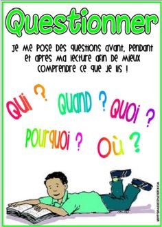 Strategies de lecture - affichage Reading Strategies Posters, Reading Comprehension Strategies, Reading Activities, Teaching Reading, Read In French, Learn French, French Teaching Resources, Teaching French, Maths Guidés