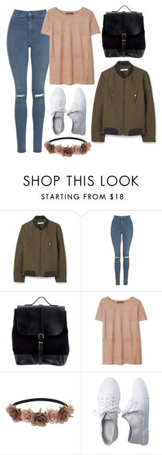 """""""KCON 2016 France // Outfit 1"""" by berrie95 on Polyvore featuring MANGO, Topshop, Steve Mono, Violeta by Mango, Miss Selfridge and Aéropostale"""