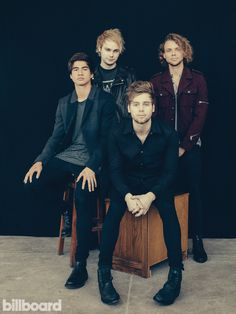 Billboard - See 5 Seconds of Summer's Billboard Cover Shoot