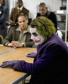 Joker® batman DC comics The beast Heath Legder, Joker Heath, Joker Batman, Joaquin Phoenix, Everything Burns, Watch The World Burn, Heath Ledger Joker, The Dark Knight Trilogy, Cinema