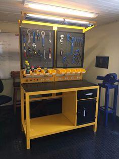 mesa de trabajo pesado banco para trabajo industrial