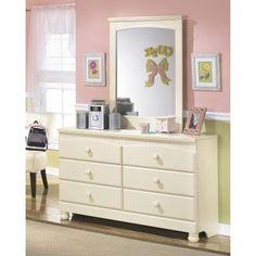 Cottage Retreat Day Bed, Dresser & Mirror