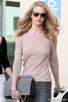 Rosie Huntington-Whiteley out in Beverly Hills, California - February 21, 2013