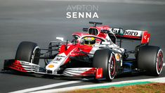 What if Senna was in a modern day car? Sport F1, Indy Cars, Race Cars, 60th Birthday, Modern, Fantasy, Schumacher, Muscle, Racing