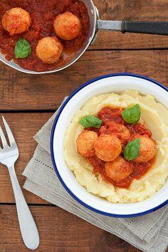 Ricetta Polpette di pane al pomodoro - Labna
