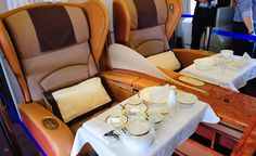 All professional travelers always consider best first class airline seats.Find out top airlines they have best first class airline seats and their services. Best First Class Airline, First Class Flights, First Class Tickets, Flying First Class, First Class Seats, Business Class Tickets, Private Jet Interior, Low Cost Flights, Miami Airport