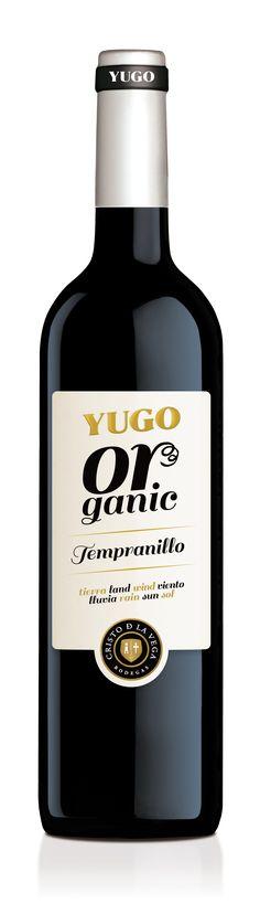 Tempranillo Orgánico • D.O. La Mancha. Red Wine Label