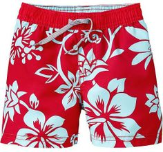 Old Navy Hibiscus-Print Swim Trunks for Baby on shopstyle.com