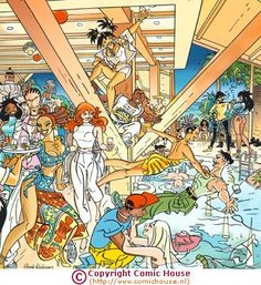 ComicHouse | illustration | 2d | Henk Kuijpers