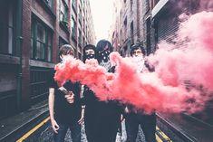 Press Shots: Vorstellen – Priti Shikotra Photography   Manchester Leeds & London Music Photographer - www.pshikotra.com Smoke Bomb Photography