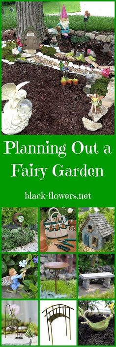 Most Beautiful Fairy Garden Ideas. One of the many great things about a fairy garden is that you can start small and build with time. The fairy garden idea exists between them and is also somewhat … Fairy Garden Plants, Mini Fairy Garden, Fairy Garden Houses, Gnome Garden, Fairies Garden, Fairy Garden Doors, Fairy Gardening, Organic Gardening, Gardening Quotes