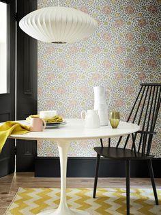 The Little Greene Paint Company Lansdowne Walk Wallpaper, Nordic