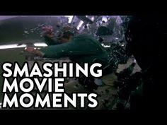 *Supercut of Movie Characters Smashing Through Glass Windows - http://www.youtube.com/watch?v=i1KHBQWyfOc=player_embedded