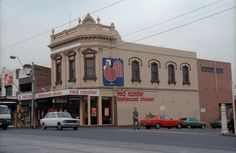 Racecourse Rd 295 Flemington-Kensington sheet 01 22 by Graeme Butler The 'burbs, Red Rooster, Barbecue Chicken, Old Buildings, Melbourne Australia, Old Photos, Street View, Victoria, Architecture