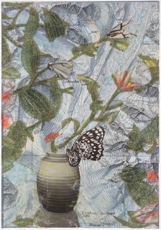 """""""My Mind's Garden"""" by Theresa Esterlund. Part of her solo exhibit in September at The Art League, """"Microcosms."""" $250."""