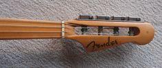 headstock of 1958 Fender