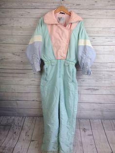 A personal favorite from my Etsy shop https://www.etsy.com/listing/514342921/vintage-80s-snowsuit-ski-suit-troylia-sz